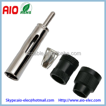 Magnificent Soldeless Din Male Screw On Aerial Connector Motorola Male Plug Wiring Cloud Usnesfoxcilixyz