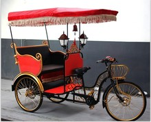 electric three wheel motorcycle used rickshaw for sale