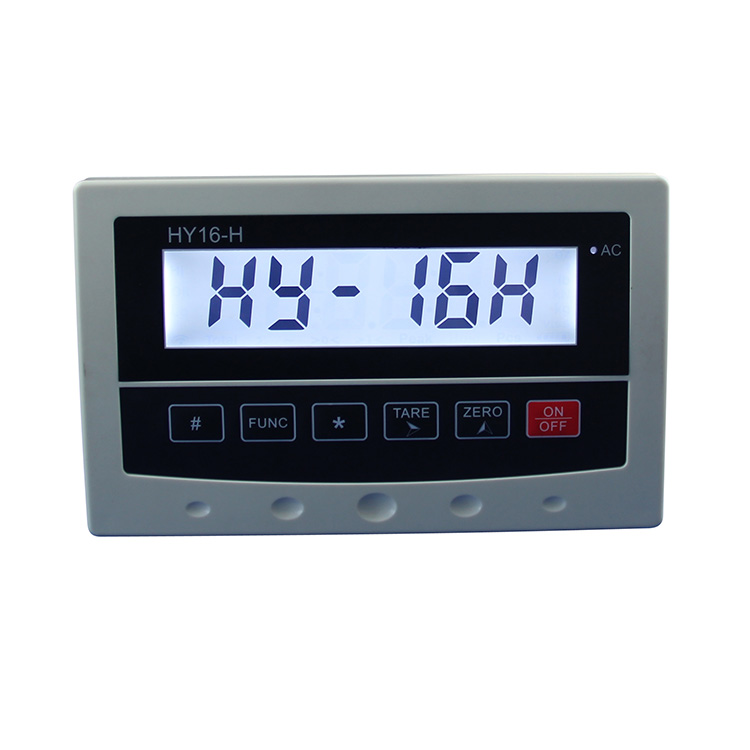 Weighing indicator with Large LCD  display for bench scale.