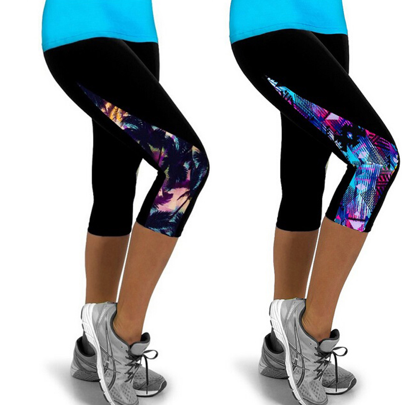 Capri Leggings Women Brazilian Yoga Gym <strong>Sport</strong> Cropped Fitness Pants