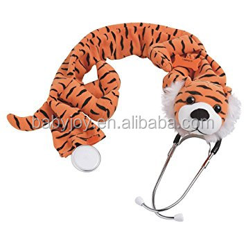 help kids not frightened in hospital wild animal tiger shaped Stethoscope Cover