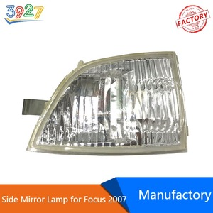 Auto Car Side Mirror Lamp Turn Signal Steering Light Housing for Ford Focus 2007 -