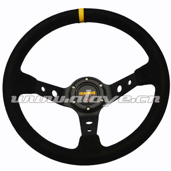 350mm Profunda Suede Racing Wheel Steering