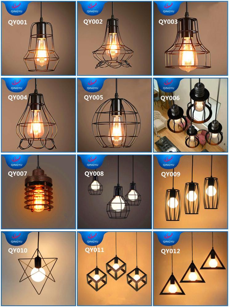 Golden Brass Copper E27 Lamp Holder Mini Pendant Lights