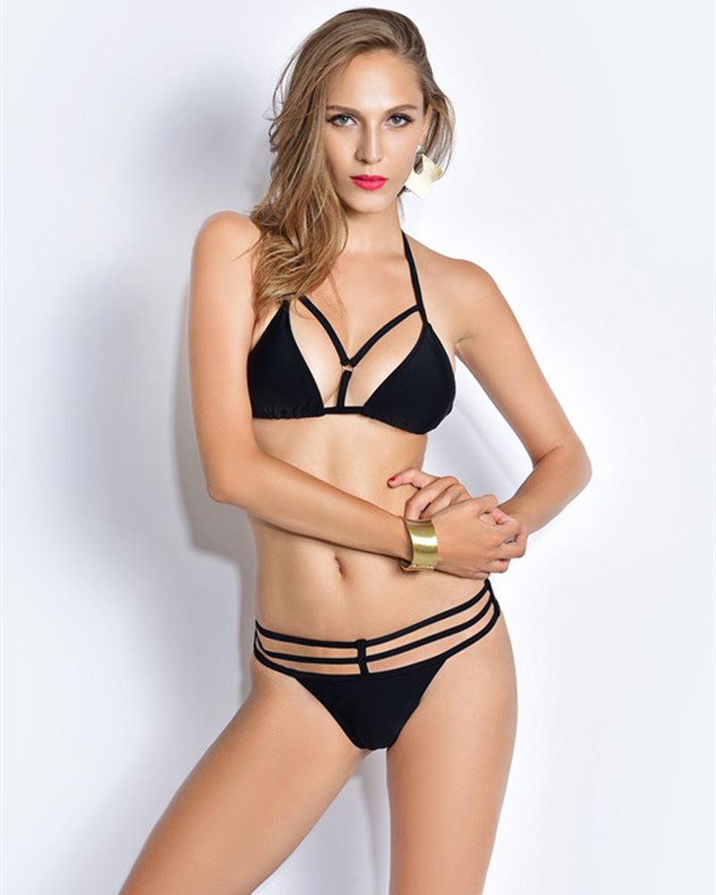 Plus Size Thong Bikini 60