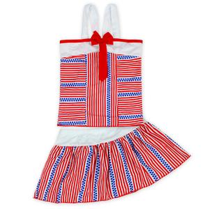 Hot sale Girls Pink Swimsuit Kids Bathing Suit Girls Grid Stripe Baby Swimming Wear