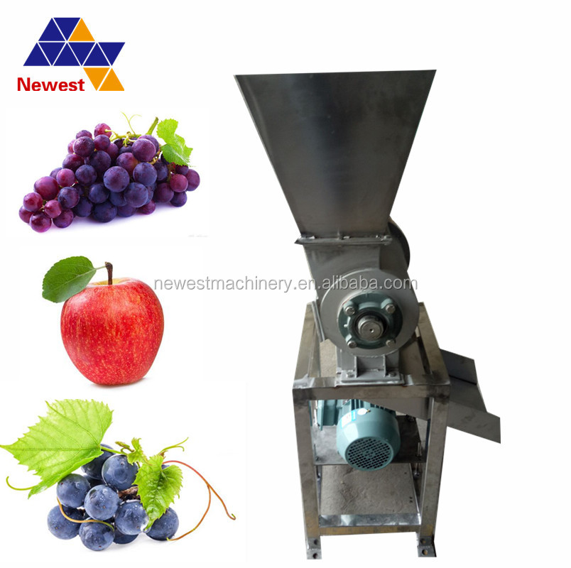 Druif die voortvloeien en smashing machine/groente-en crusher machine/fruit crusher machine