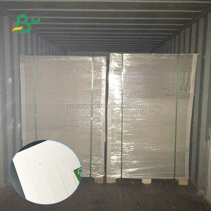 Recycled Pulp 1.5mm 2mm 2.2mm 2.25mm 700*1000mm Grey Chipboard For Making Gift Boxes