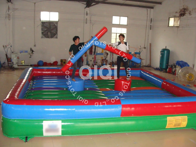 Interesting inflatable wrestling ring,inflatable gladiator joust for sale