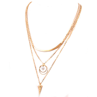 Wholesale products pearl pendant necklace 2016 new fashion jewelry making gold chain