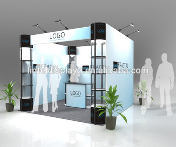 industrial modular trade show booth design ideas for shopping mall - Booth Design Ideas