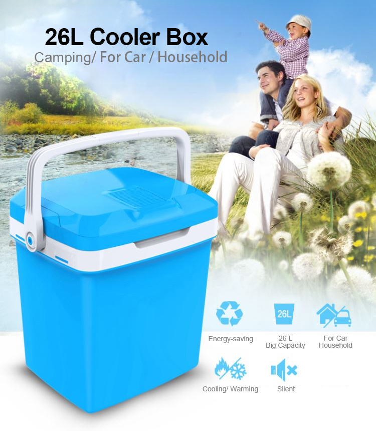 50L Hot Portable Electric Mini Thermoelectric 12v 240v Cooler and Warmer Box for Car