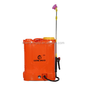 Agriculture Knapsack portable Battery Electric Power manual operated sprayer