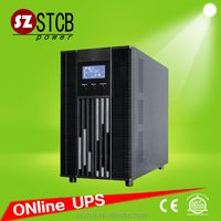 Uninterruptible power supply 110v/220v 3kva online ups battery backup
