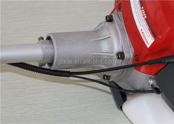 Power Tools TJ53 28mm Pipe Diameter straight shaft gasoline brush cutter Garden Tools 53.2cc Engine Spare Parts