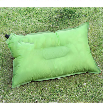 New Design Promotional Outdoor Soft Air Inflatable Camping Pillow for Tent Use