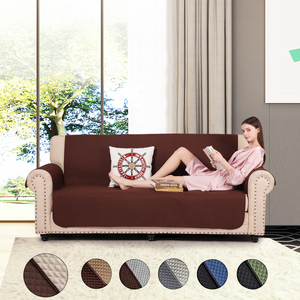 High Quality Non-Stick Hair Soft Polyester Design Large Couch Waterproof Spandex Sofa Cover