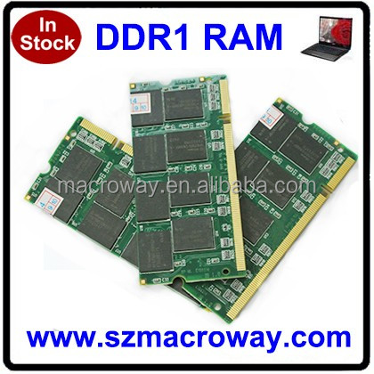 Wholesale Laptop ram memory ddr1 2gb for laptop