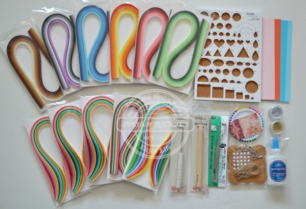 Paper Quilling Kitchen Set
