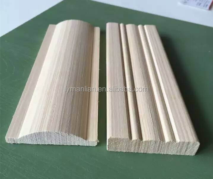 white pine wood moulding solid timber moulding for construction
