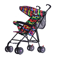 lightweight portable bob stroller/rock star baby stroller with carseat for summar season
