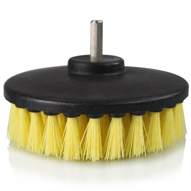 Drill Brush For Leather Sofa Polish
