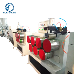 used pet strapping band production line/plastic strap making machine/pet strapping production line