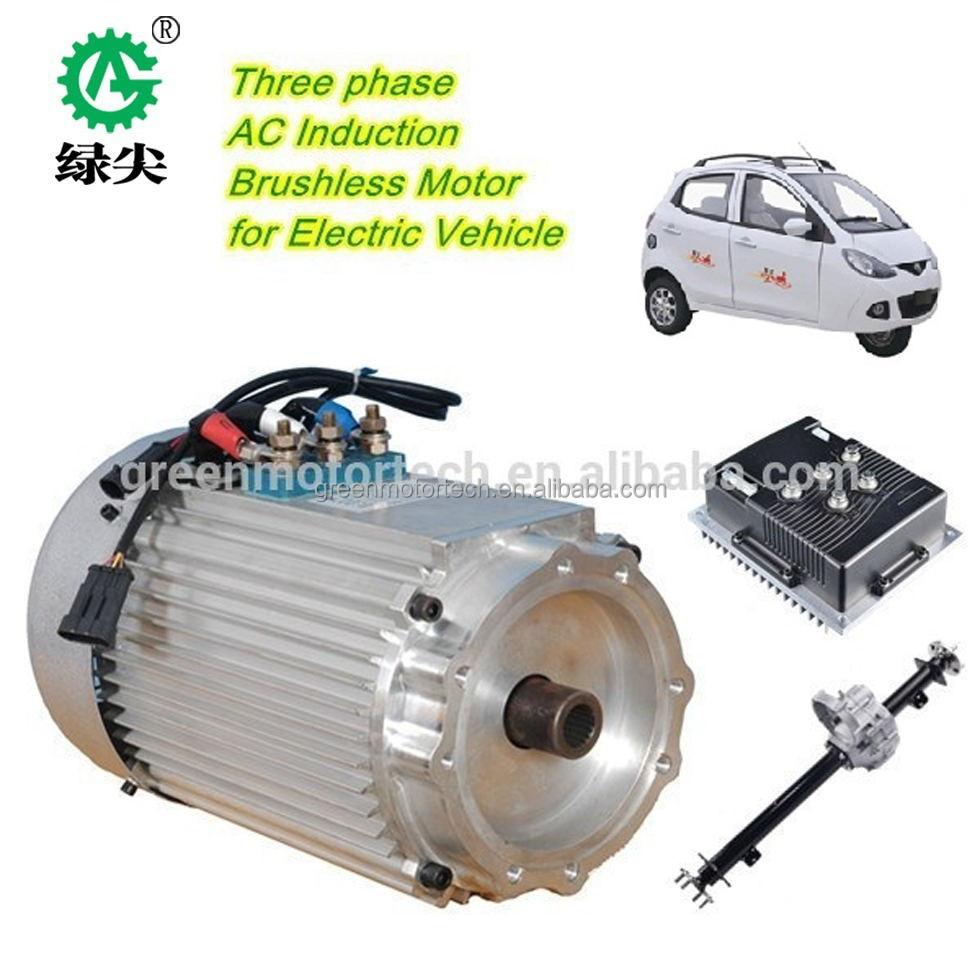 haute puissance hub moteur de voiture lectrique 48 v voiture lectrique hub moteur 3kw. Black Bedroom Furniture Sets. Home Design Ideas