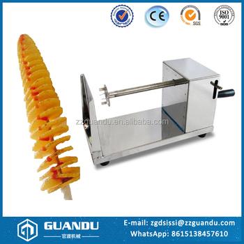 Manufacturing Machine Tornado Potato Cutter Twist Potato Spiral Cutter Potato Chips Spiral Cutter Buy Potato Spiral Cuttertwist Potato Spiral