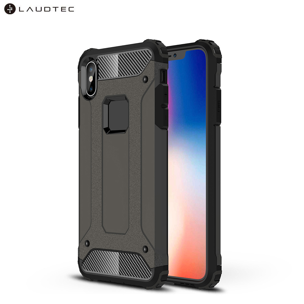 Laudtec Hybrid Shockproof PC Soft TPU Back Cover Case For iPhone Xs Max фото