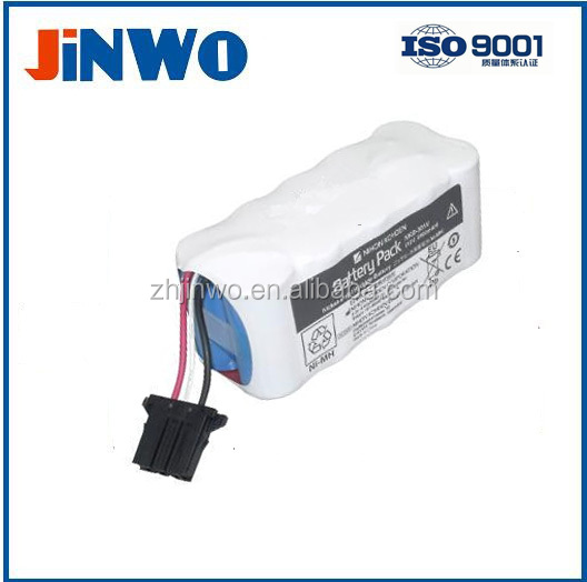 Nihon Kohden Medical NiMH battery 12 Volt 2,8 Ah Nihon Kohden Defibrillator X065 / NKB-301V 12V 2800mAh Battery Pack