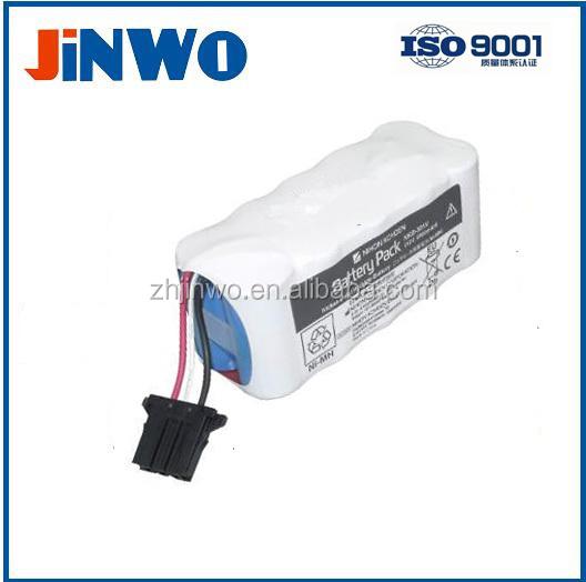 Nihon Kohden Medical NiMH battery 12 Volt 2,8 Ah Nihon Kohden Defibrillator X065 / NKB-301V 12V 2800mAh Battery Pack