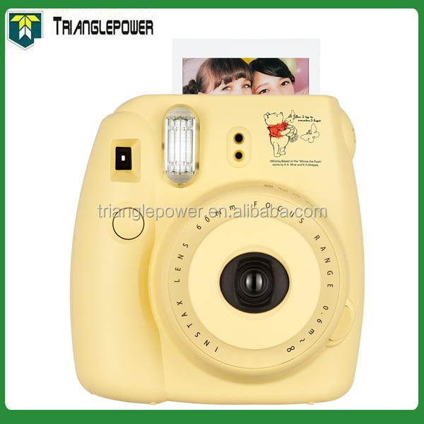 Commercio all'ingrosso Fujifilm Instax Mini8 con Cartone Animato Winnie Orso, giallo