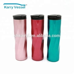 16 oz Hot Stainless Steel Vacuum Tumbler for Drinking