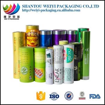 Packaging Film /plastic Film Roll Stock For Snack Packaging