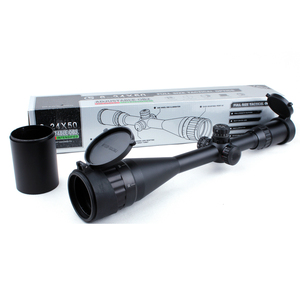 Wholesale Price 6-24X50 AOL Red Green Blue 3 Illuminated rifle scope with Side Focus