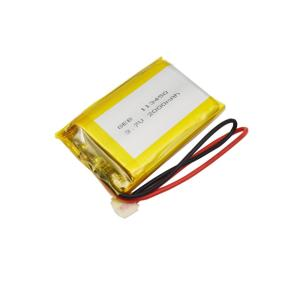 Rechargeable Li-Polymer Li-Ion Li 113450 3.7V Lithium Ion Lipo Polymer 2000Mah Battery