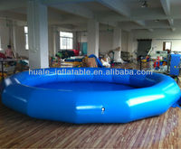 CE approved high quality PVC customized giant inflatable pool, cheap inflatable water pool
