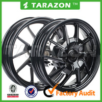 High quality CNC machining motorcycle alloy wheels for yamaha