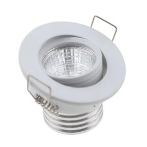 Head Moveable 3w Ceiling Mini Led Downlight DC12 24V 4000K