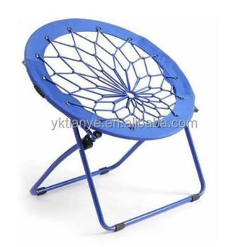 Bon Bunjo Bungee Camping Folding Portable Hiking Seating Seat Lounge Chair  Furniture