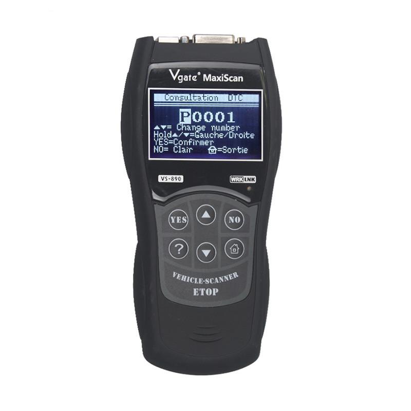 Automobiles & Motorcycles Vs890s Obdii Obd2 Diagnostic Tool Vs890 Car Code Reader Maxiscan Vs 890 Obd Ii Scanner Vs890 Multi-language Vgate Vs890