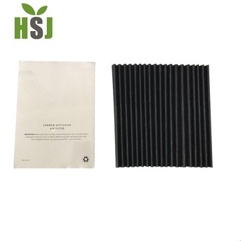 Hot sale replacement active carbon air filter