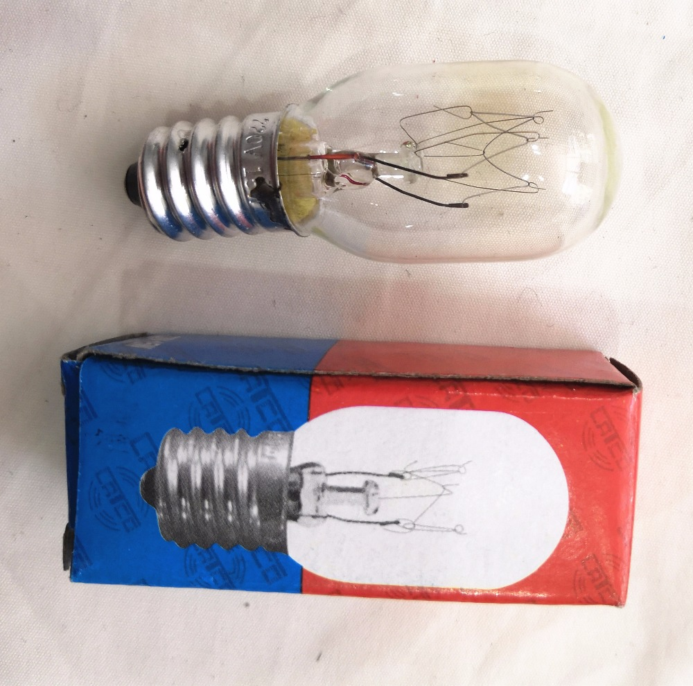 Fridge incandescent bulb E14 T22