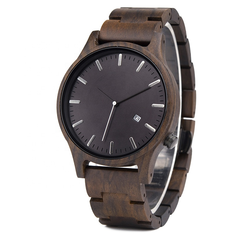 DODO DEER Hot Selling Wooden Watches OEM Men Quality Automatic Date Watch Fashion Timepieces relojes hombre