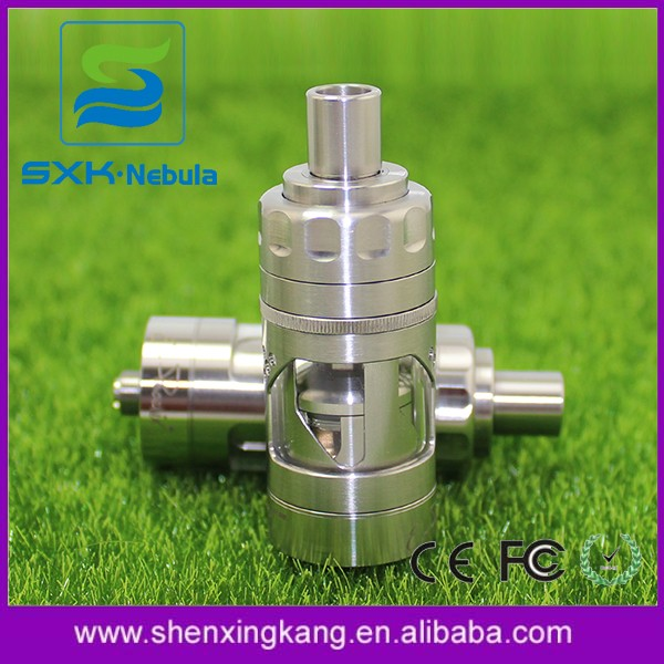 New Hurricane v2 rta From Top Vape Factory SXK 1:1 Clone Firebird rta with Clear Bell cap