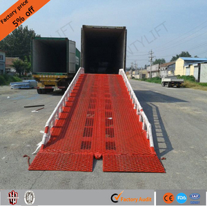 6 ton Truck loading dock ramp Forklift loading unloading yard ramp