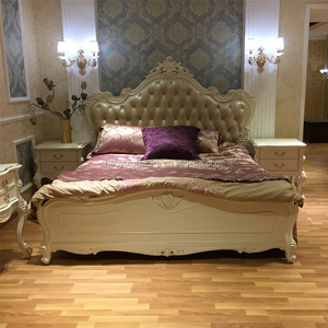royal latest double bed designs HY173-7