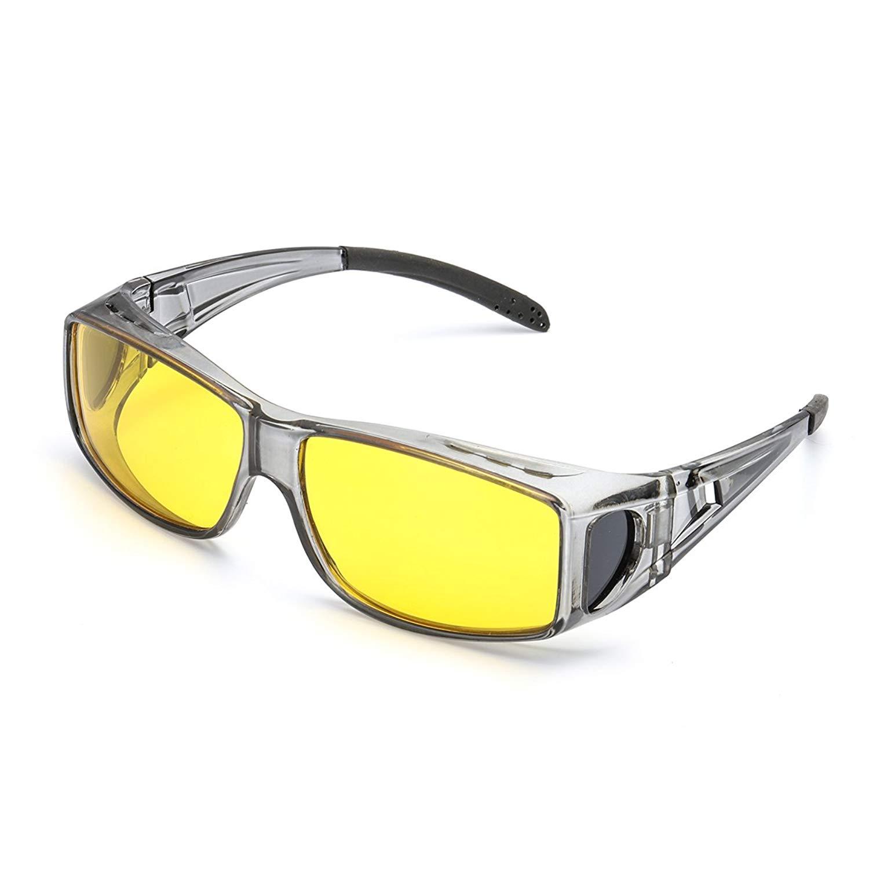 e6a5e828355 Get Quotations · Wrap Around Night Vision Glasses