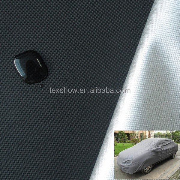 Silver coated fabric for car cover ,tent cloth,shade cloth